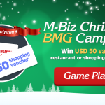Congratulations to all winners from M-BIZ Christmas Event!